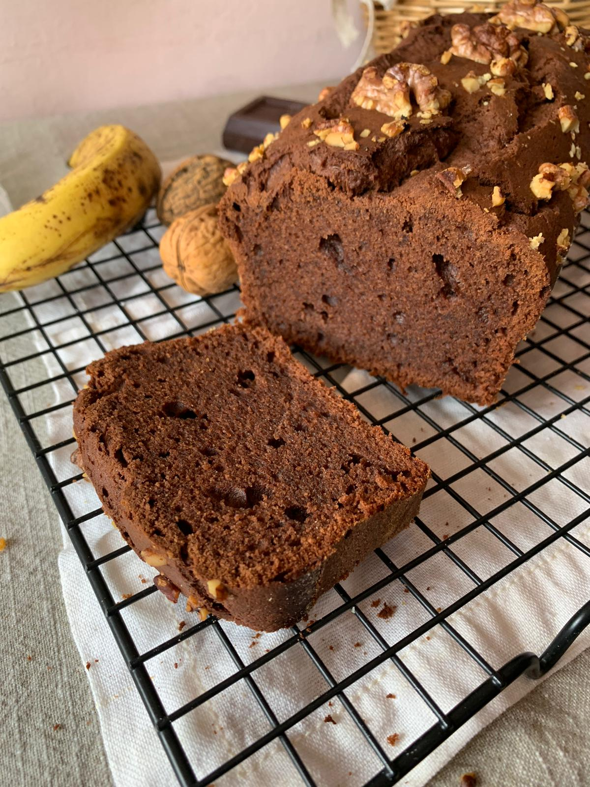 banana bread brownie